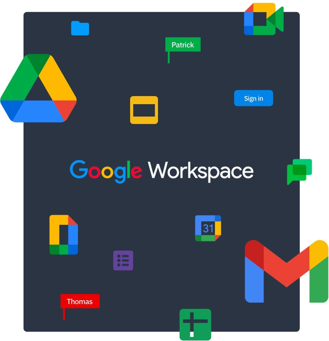 Happeo Software - Fully integrated with all Google Workspace tools
