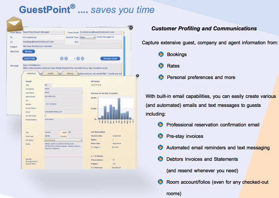 Customer profiling and communication