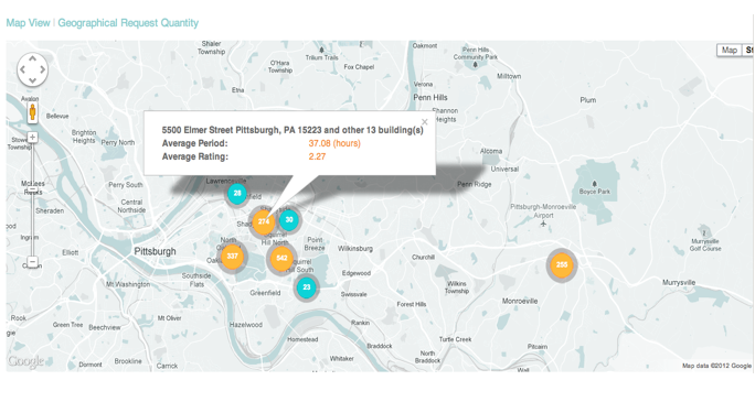Geographic data tools provide a richer perspective for evaluating business performance.
