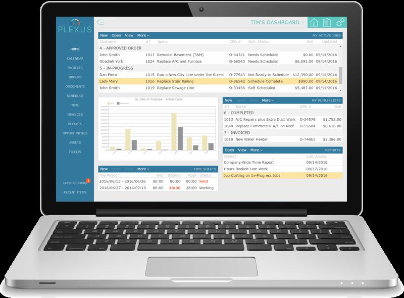 Plexus Software - Personalized Dashboards