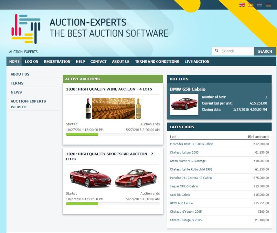 Auction-Experts Logiciel - 1