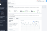 Glew Screenshot: Discount analytics