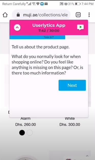Userlytics mobile usability testing