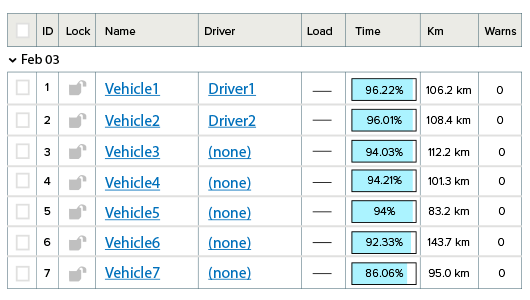 Plan routing & scheduling for drivers