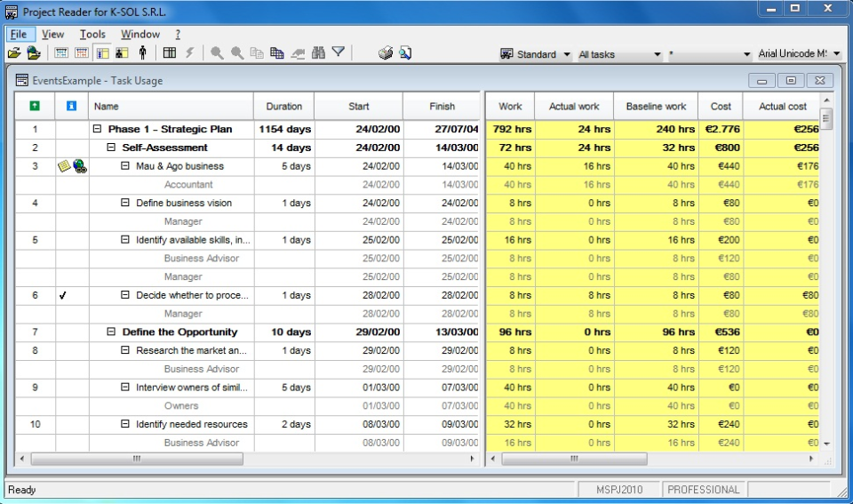 Project Reader Software - 2