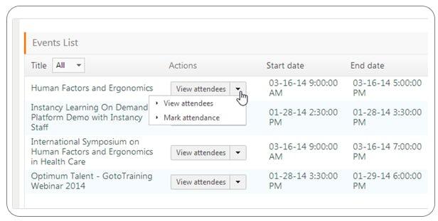 Instancy Learning Management System Software - Instancy enrollment management