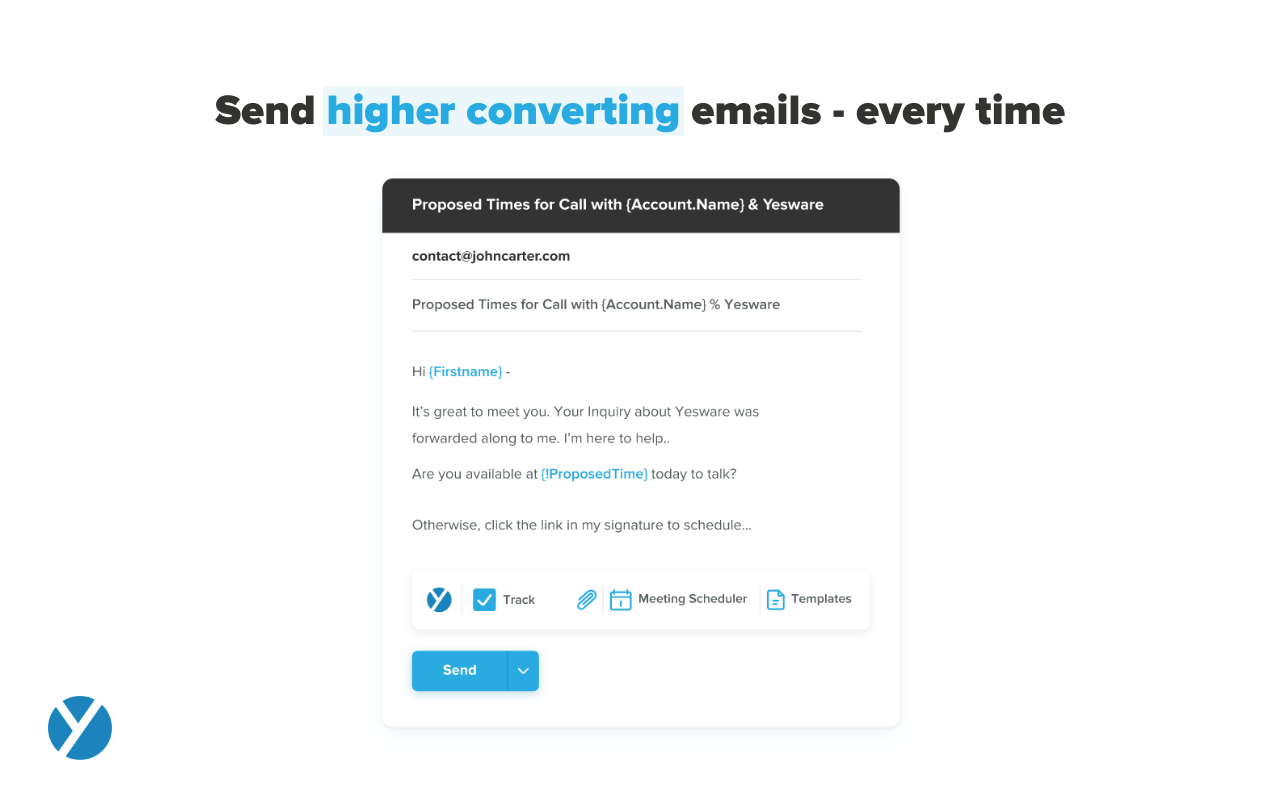 Yesware Software - Email Templates