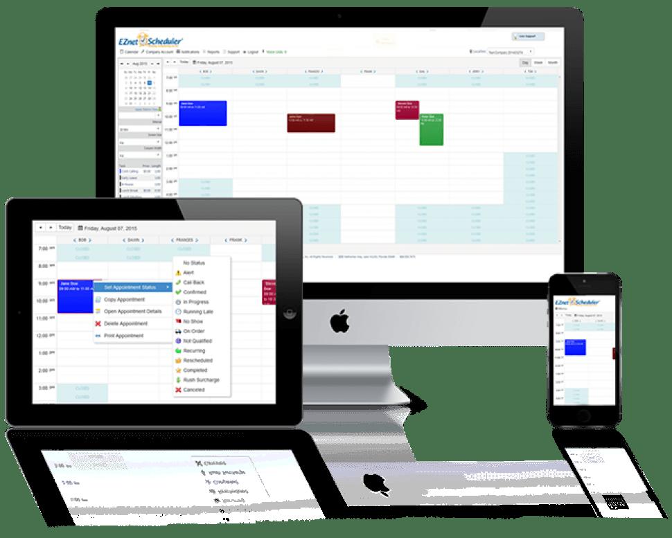 EZnet Scheduler Software - Multiple devices