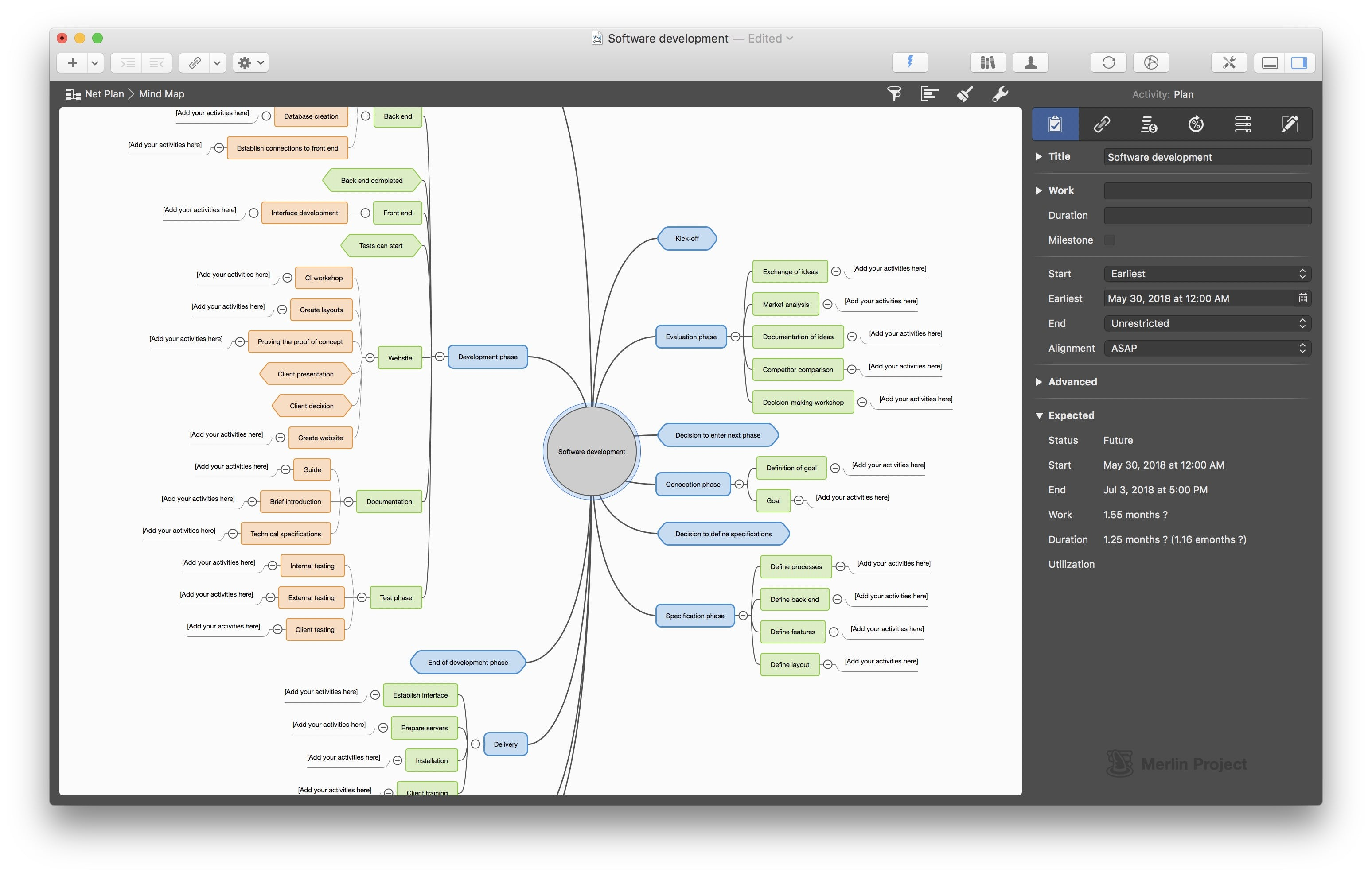 Merlin Project Software - 3