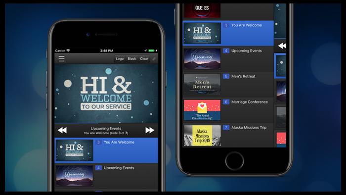 EasyWorship iOS remote app