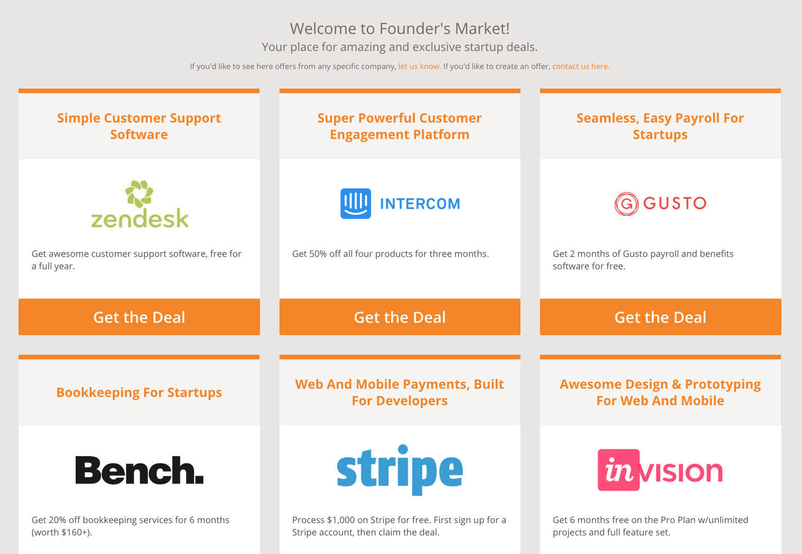 Foundersuite third-party integrations screenshot