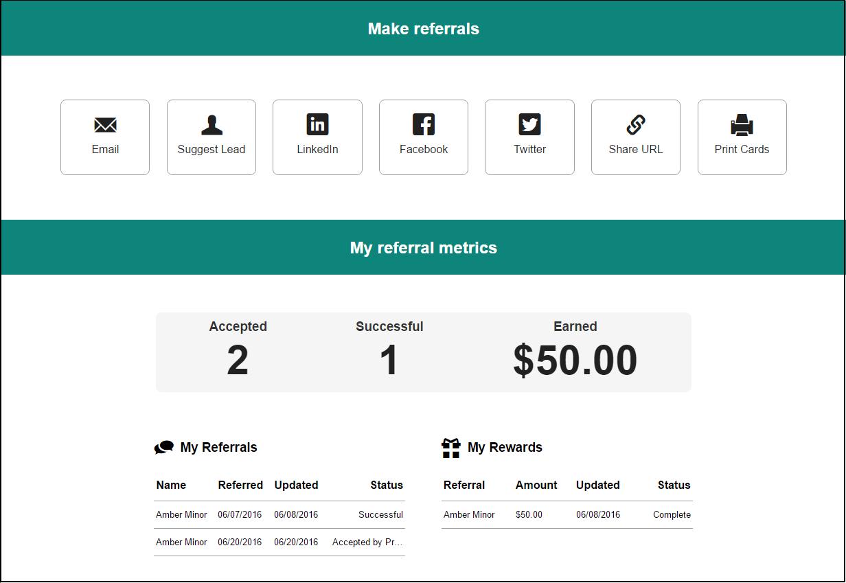 Amplifinity insights dashboard screenshot