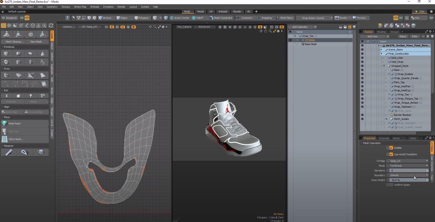 Modo create designs