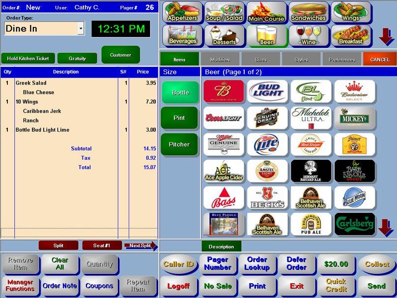 HungerRush RMS order management