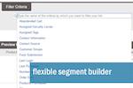 Captura de pantalla de Unbound Marketing: Flexible segment builder
