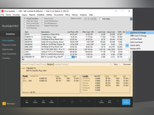 RockSolid MAX Software - RockSolid MAX updating inventory prices