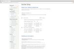 BiddingOwl.com screenshot: BiddingOwl auction setup
