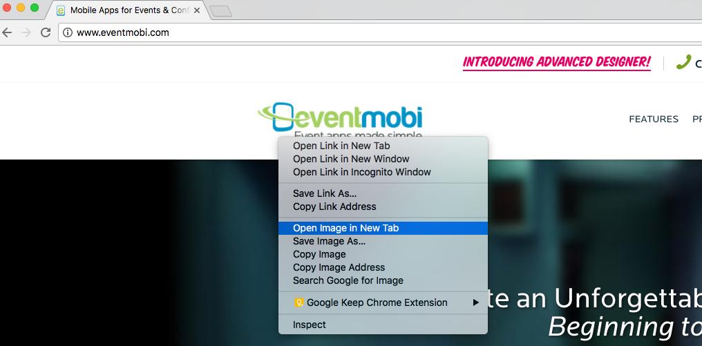 EventMobi Software - Add image