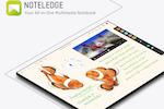 Capture d'écran pour Creativity 365 : Noteledge