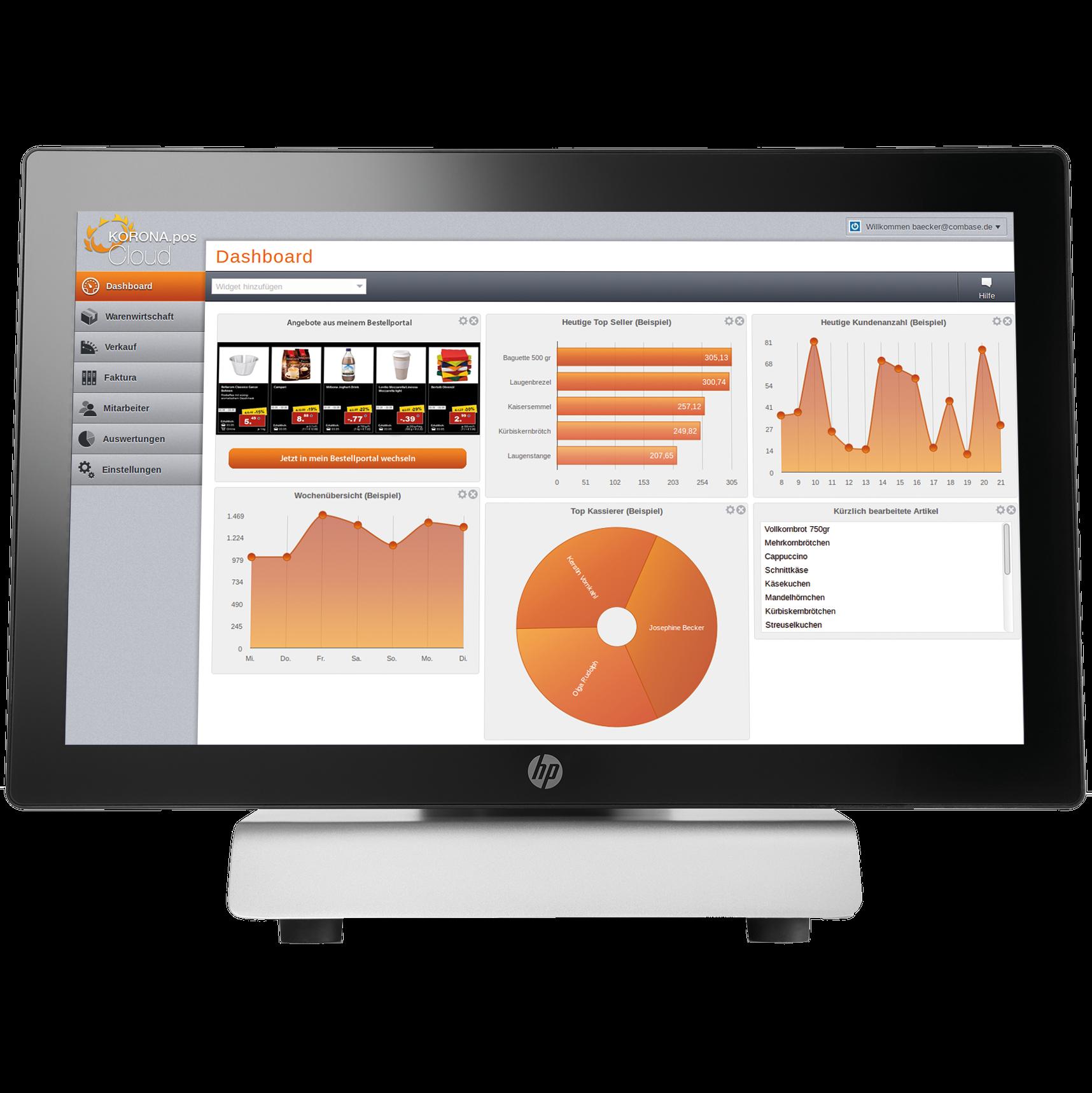 KORONA Software - KORONA Dashboard2