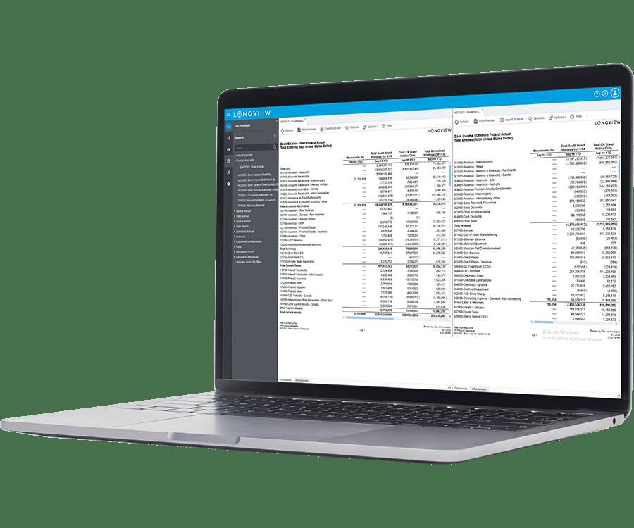 Longview Tax Software - 2
