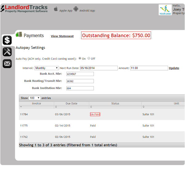 LandlordTracks Software - 4