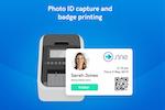 Sine screenshot: Instantly print badges