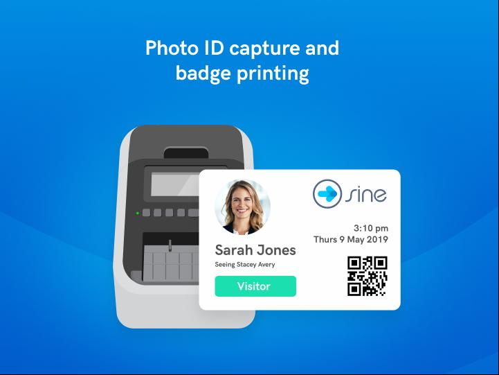 Instantly print badges