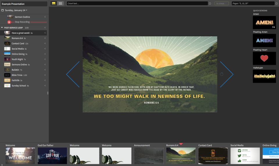 Faithlife Proclaim Software - 3