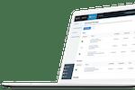 RESMARK screenshot: RESMARK automated emails dashboard.