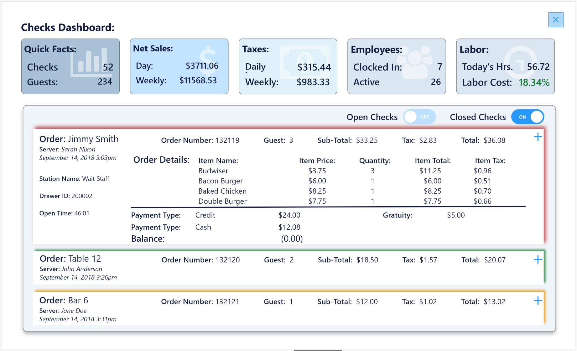 Order entry central - create orders, modify items, profit generating gestures help you make the most out of order entry.