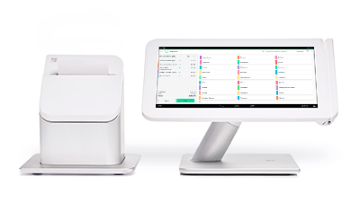 POS stations, receipt printers, and other hardware can be used with Clover