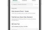 Capture d'écran pour GoSpotCheck : Prioritize daily checklists & tasks and give teams context about the work to be completed & why it matters, all in one place, organized & accessible on their mobile device.