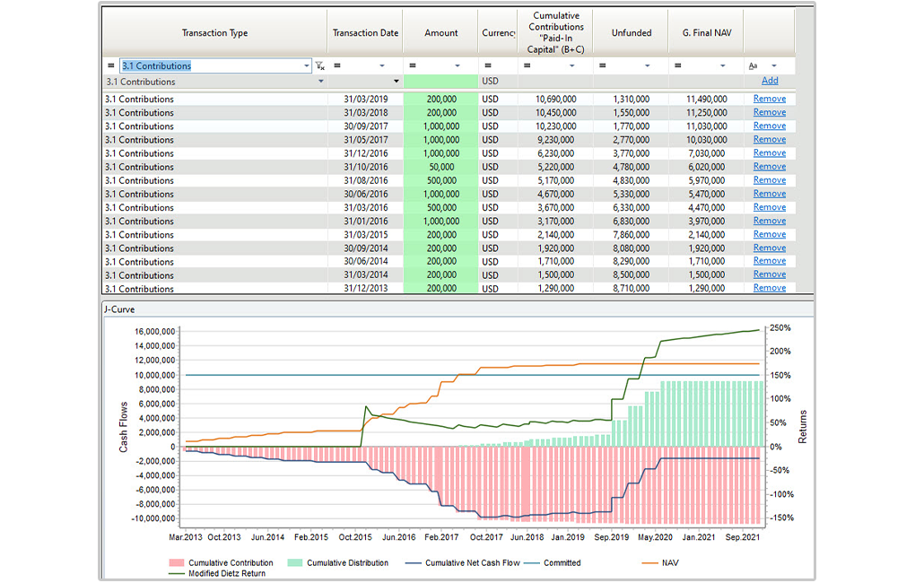 AlternativeSoft screenshot: AlternativeSoft private equity funds management