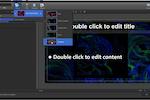 EasyWorship screenshot: EasyWorship presentation designer