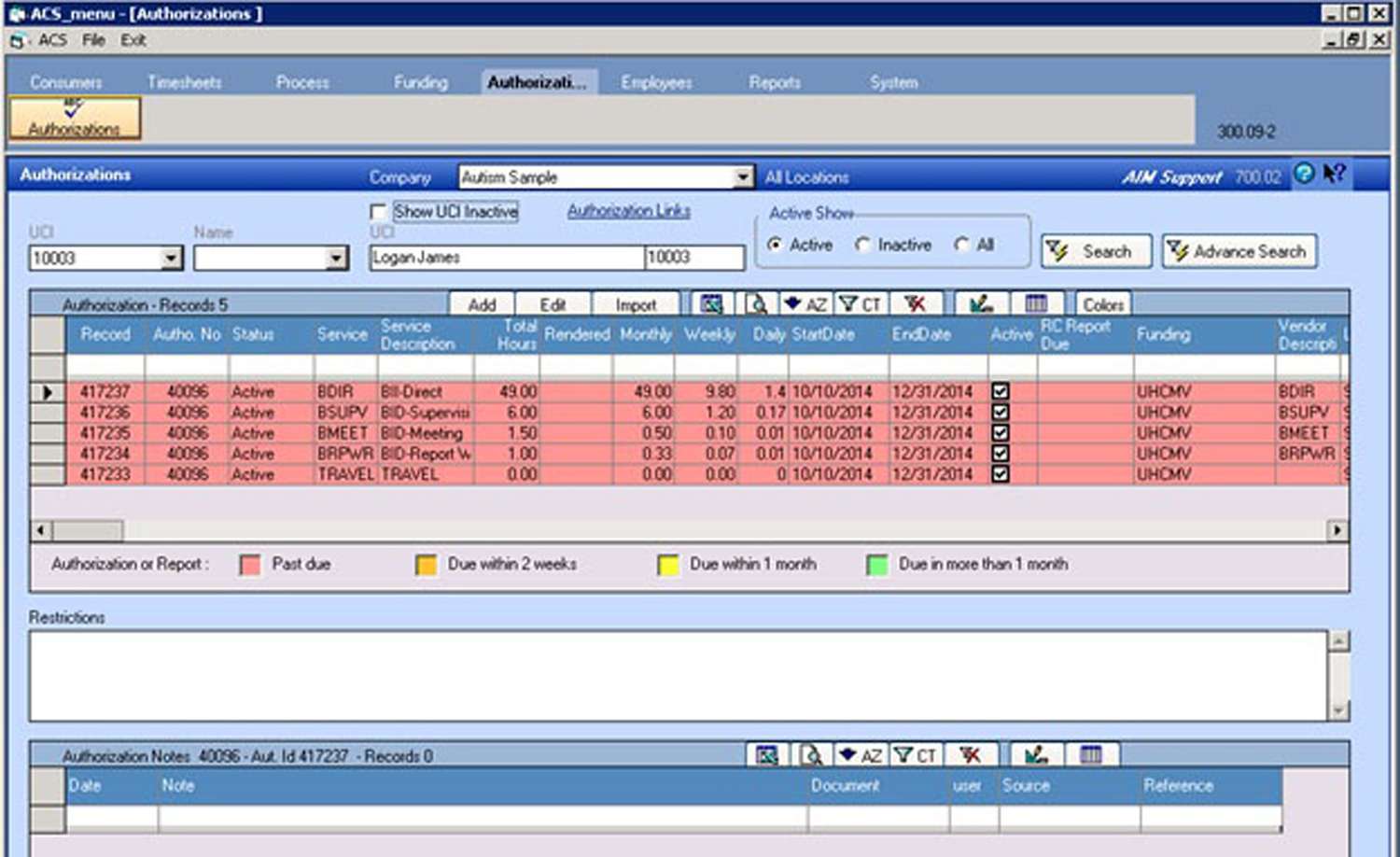 TherapistMate Software - Case Management
