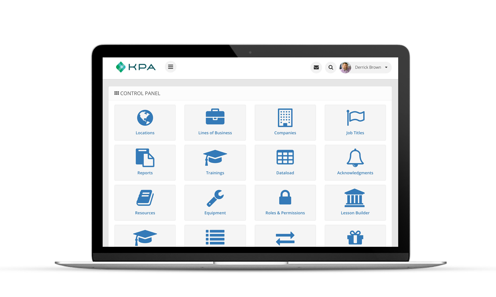 KPA EHS Control Panel