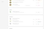 Captura de tela do Leapsome: Goals - List