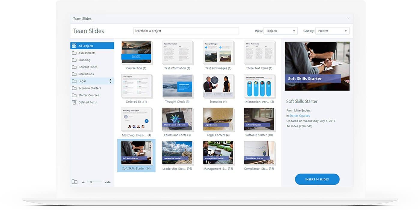 Articulate 360 Software - Storyline 360 team slides