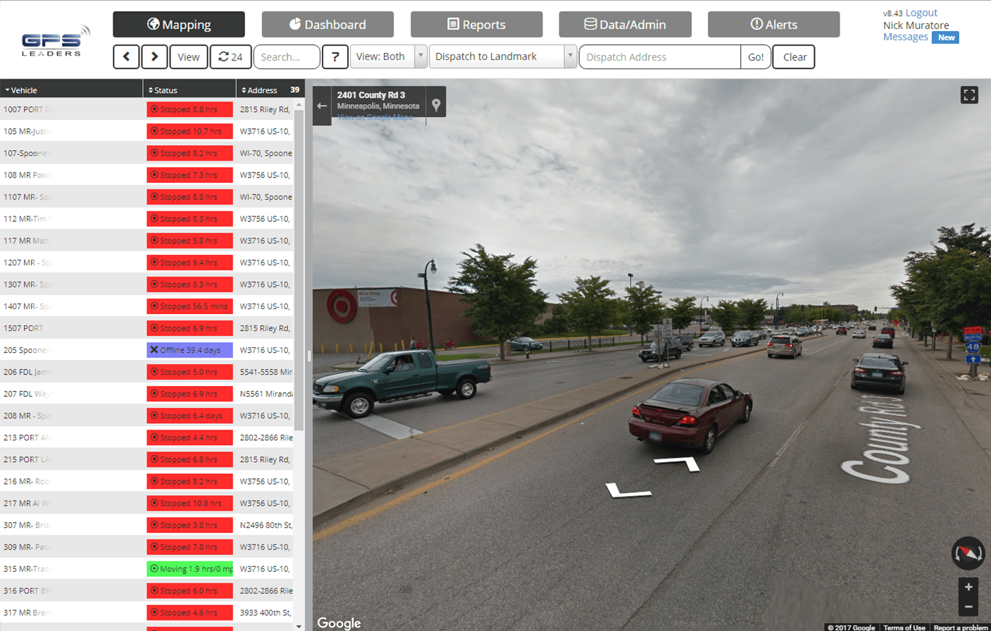 GPS Leaders Software - Google Maps street view