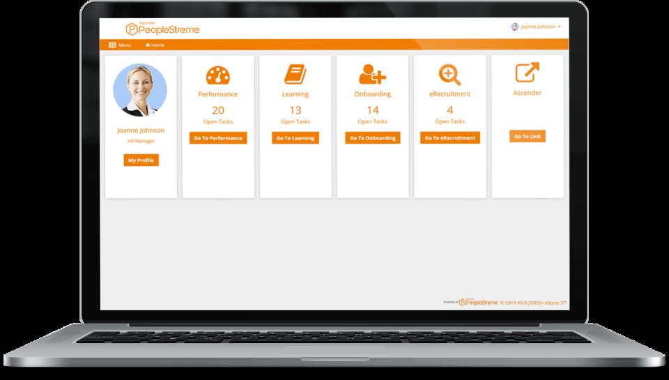 Ascender Payroll and HCM Software - Dashboard