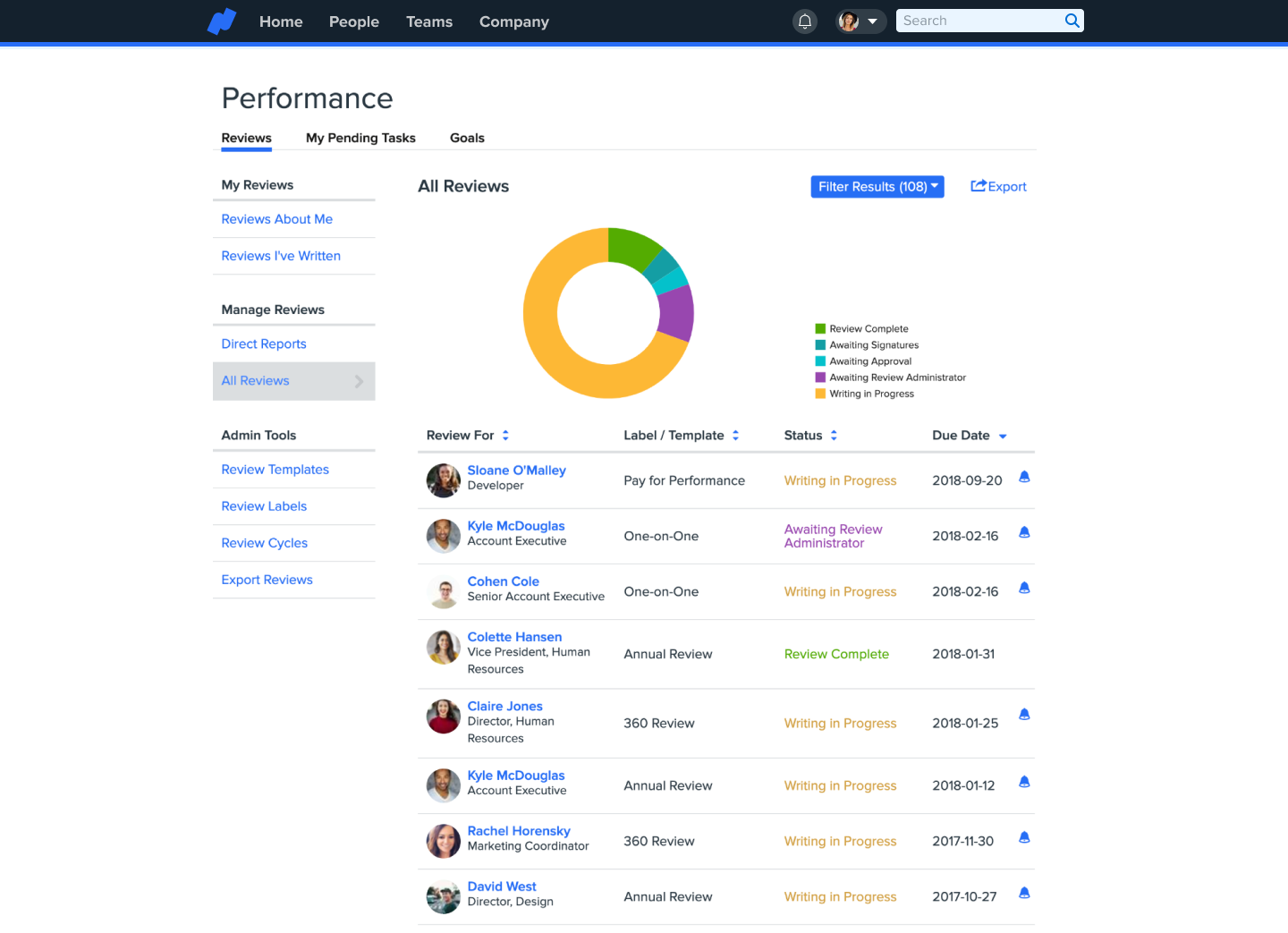 Namely Software - Talent & Performance Management: connect, engage, and develop your workforce in a platform that your employees actually wants to use