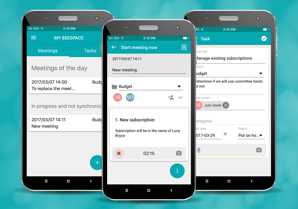 Beenote screenshot: Beenote App is available on iOS and Android