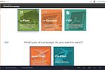 ewiz commerce screenshot: ewiz commerce create campaigns