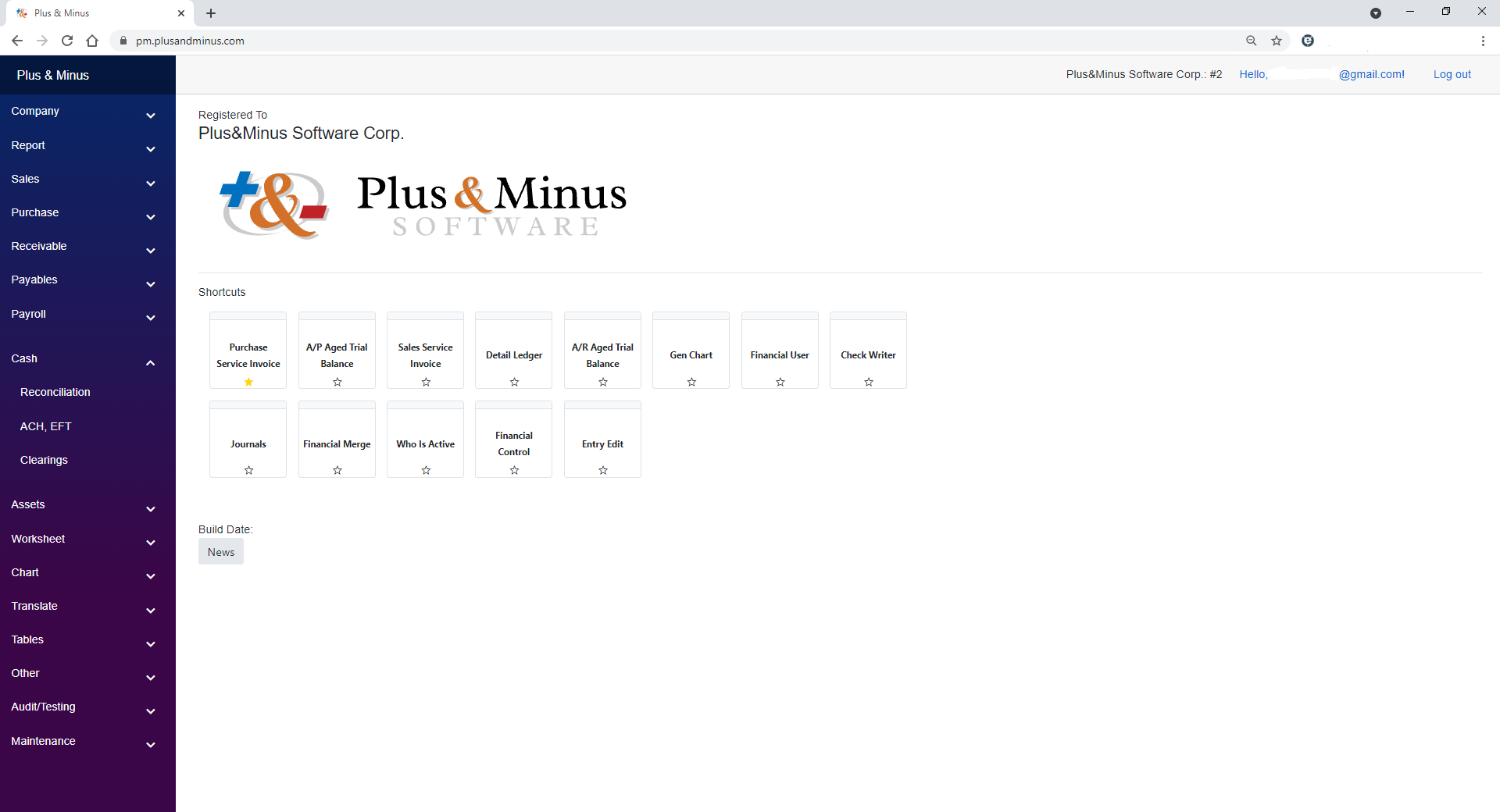 Plus & Minus Software - New Plus & Minus Web App