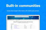 FinancialForce PSA screenshot: Collaborate, share, communicate