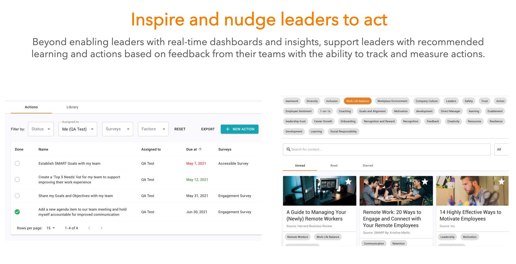 WorkTango Software - Inspire Leaders to Act