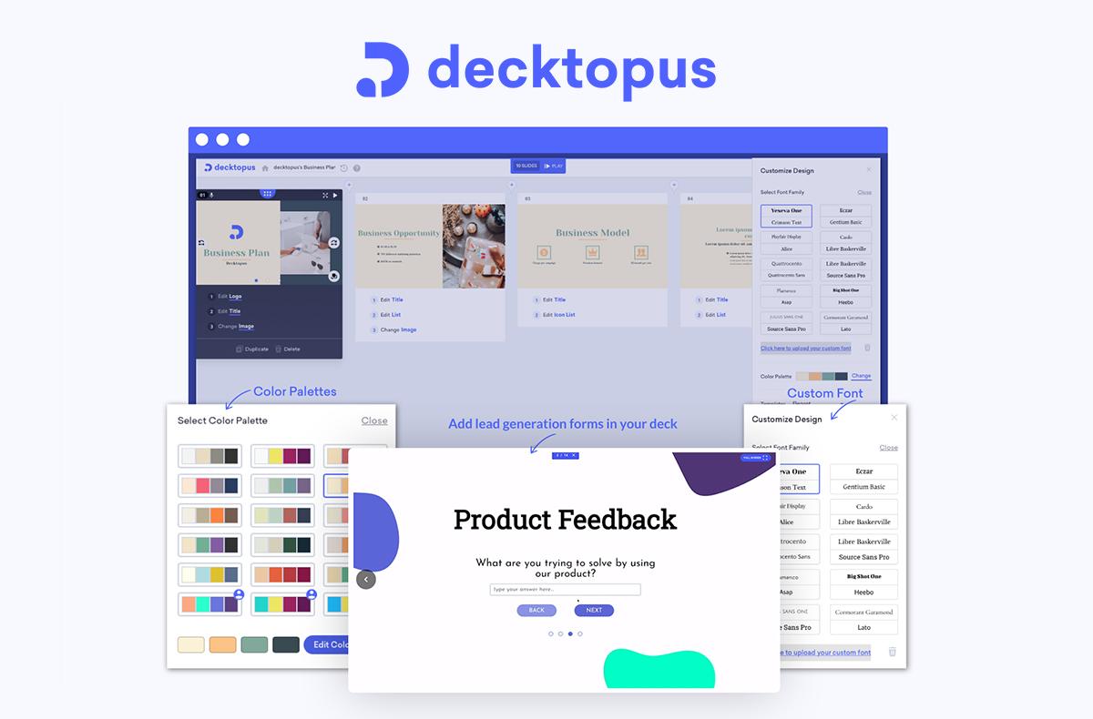 Decktopus Logiciel - 2