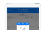 inSitu Sales screenshot: inSitu Sales: capture signatures and print invoices