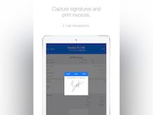 inSitu Sales Software - inSitu Sales: capture signatures and print invoices